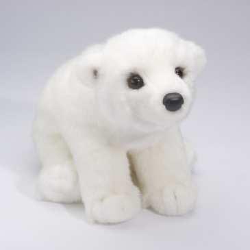 Five cute plush arctic animals