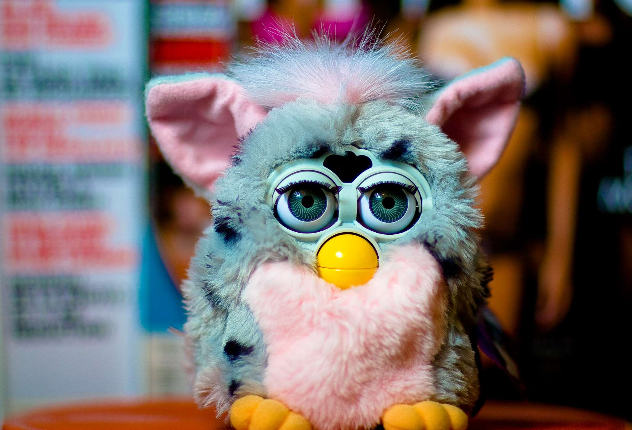 the history of furby