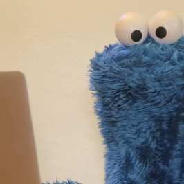 Watch the Cookie Monster break the Internet