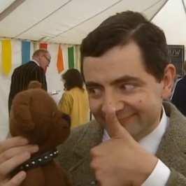 The story of Mr Bean Teddy Bear