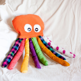 How to make a stuffed octopus