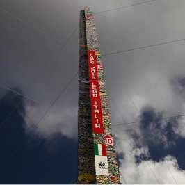 Milan broke the record for the tallest LEGO tower in the world