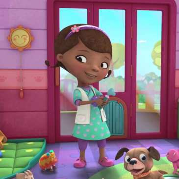 9-year-old girl is the real life Doc McStuffins