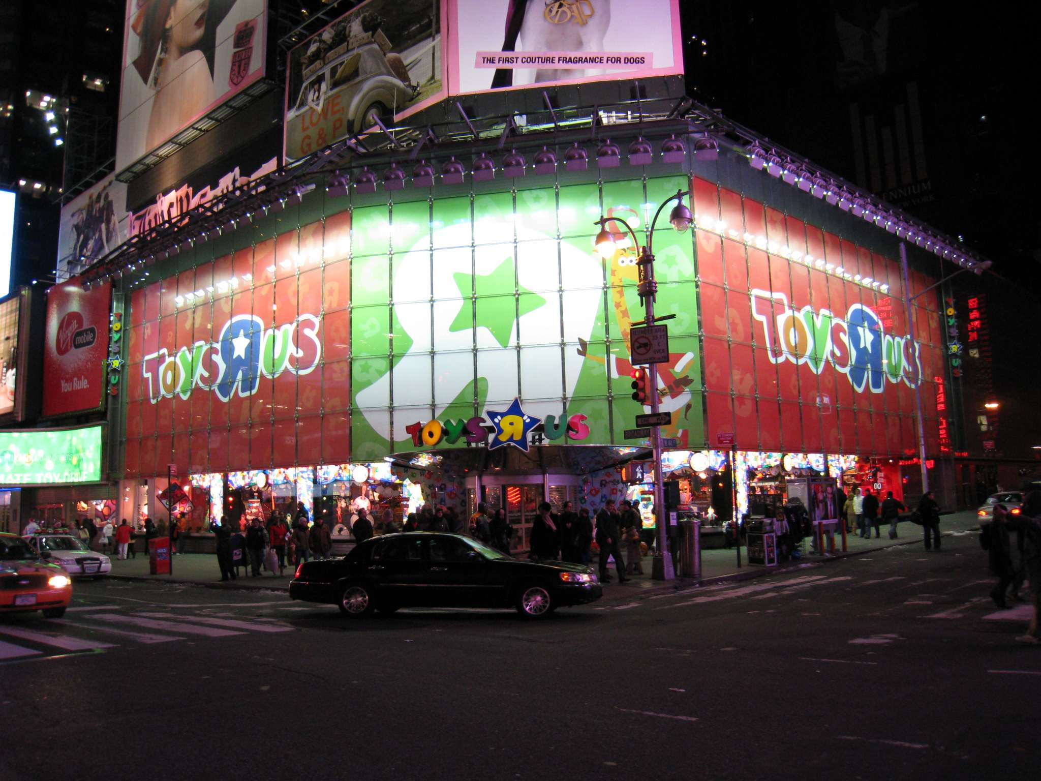 Toys R Us Times Square : Toys r us closes its flagship times square store