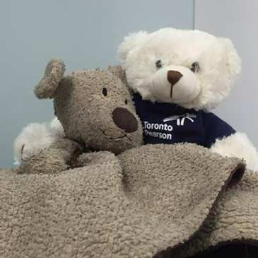 Toronto Airport reunites a little girl with her lost stuffed animal