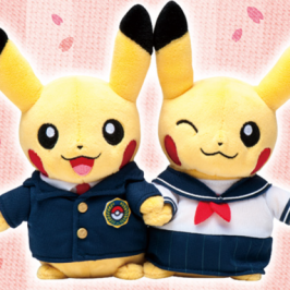 New line of Pikachu stuffed animals come in time for Japanese schools graduations