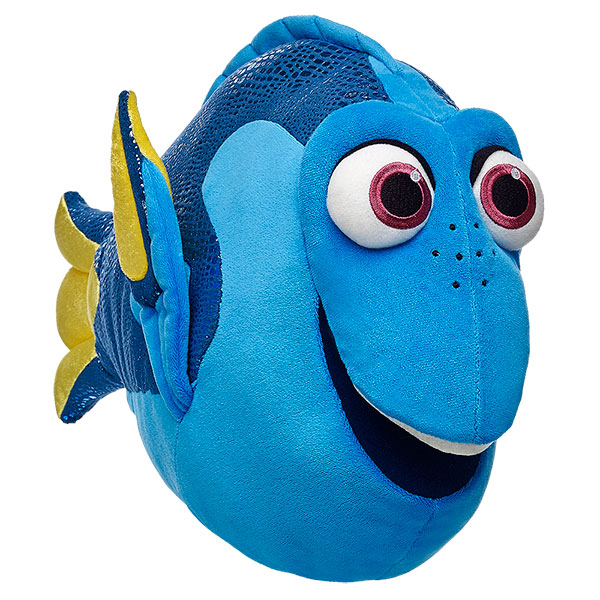 Build a bear unveiled new finding dory collection of for Talking fish toy