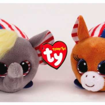 Ty shows off new Teeny plushies for the US presidential elections