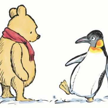 The new Winnie-the-Pooh book will add another character – a penguin