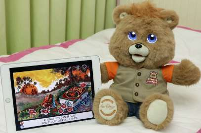 The new Teddy Ruxpin is here. Check out the new features