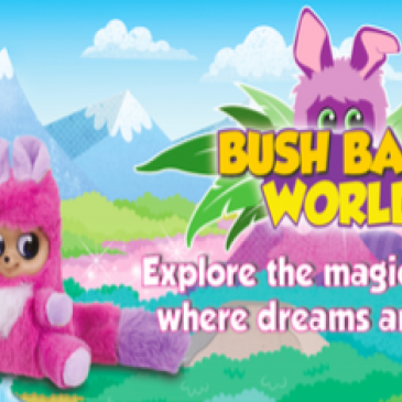 Golden Bear's Bush Baby plush toys get their own web series