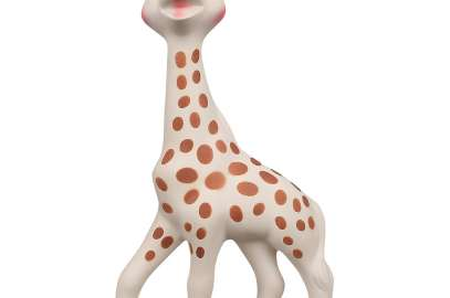 Yet another toy plagued by mold inside – this time Sophie the Giraffe