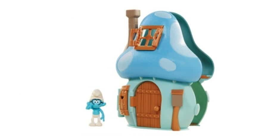 Jakks Pacific and Sony are making a new line of Smurfs toys