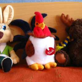 Stuffed animals souvenirs