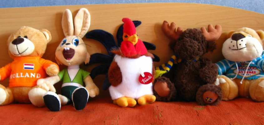 Six cool stuffed animals videos