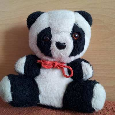 This panda came from Belgrade, Serbia more than 20 years ago.