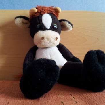 Meet Moo the Stuffed Cow