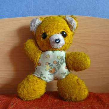 How to make a teddy bear heating pad
