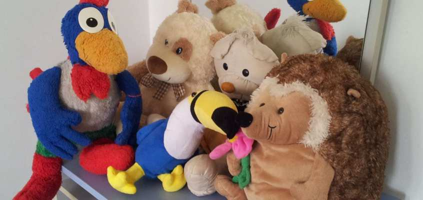 Can stuffed animals cure depression