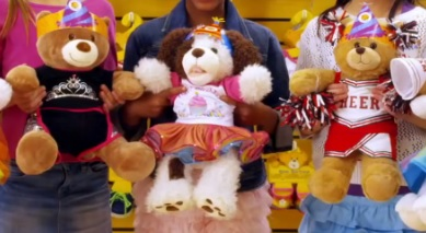 Build-a-Bear prepares new stuffed animals for the Holidays