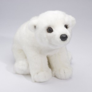 Five cute plush arctic animals