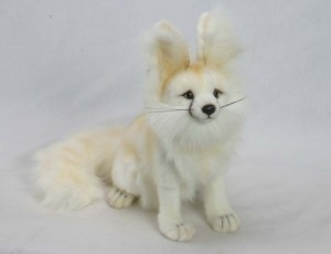 Plush arctic fox