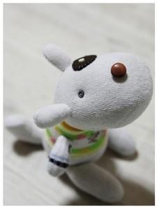 How to make a stuffed sock dog