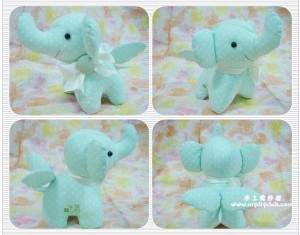 How to make a stuffed elephant