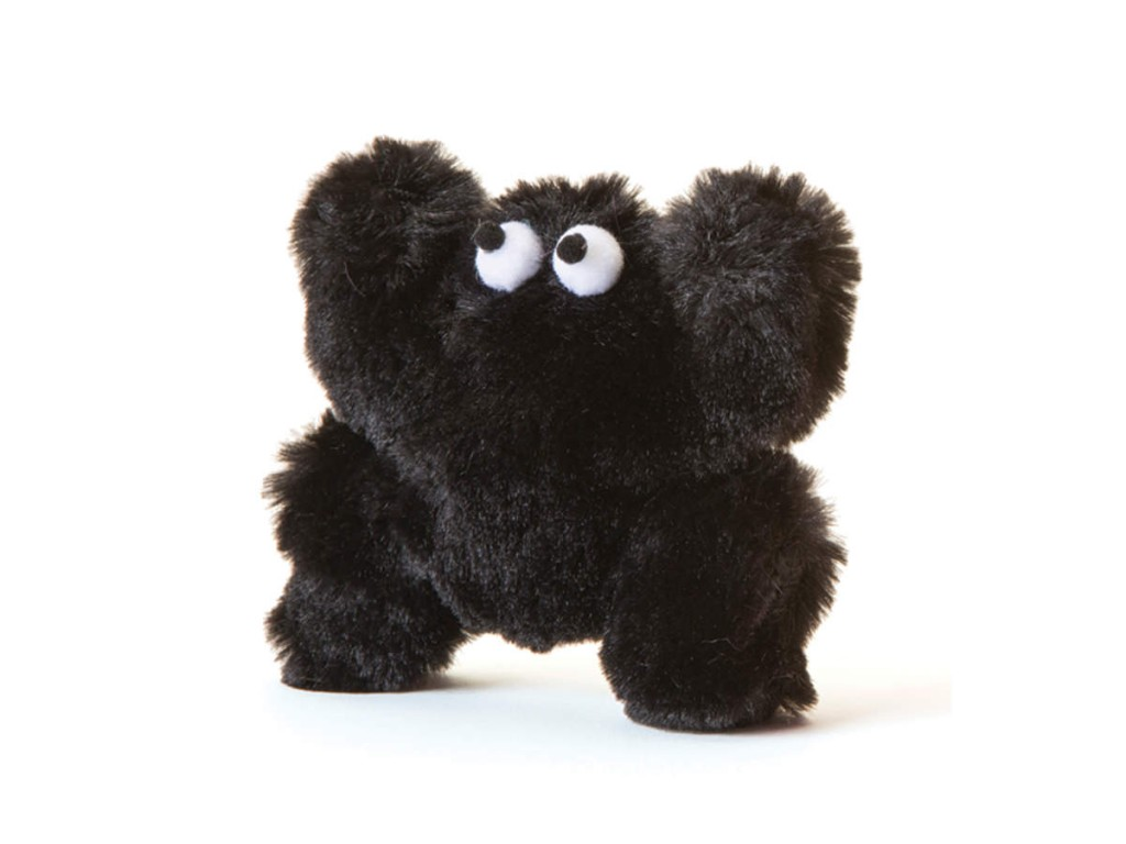 Five stuffed toys for pets