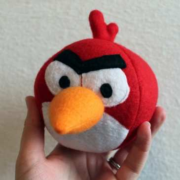 How to make Angry Birds plushies