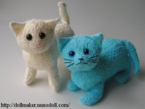 How to make a stuffed Terry cat