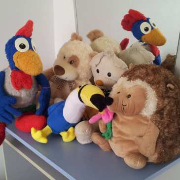 How to buy stuffed animals at a garage sale