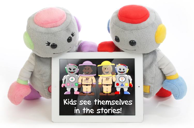 The plush robots TROBO are a new kind of interactive toys