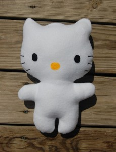 How to make a stuffed Hello Kitty