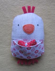 How to make a stuffed love bird
