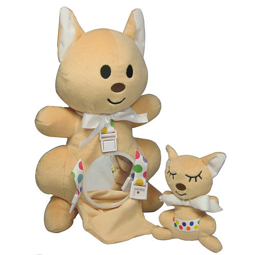 Crib-a-Roo Learning stuffed animals