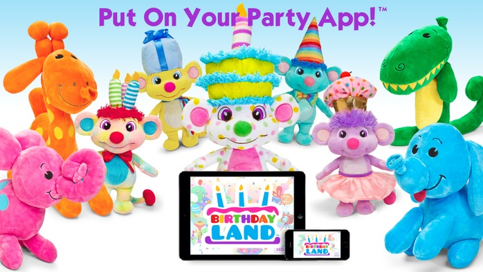 Meet the new line of plushies called BirthdayLand