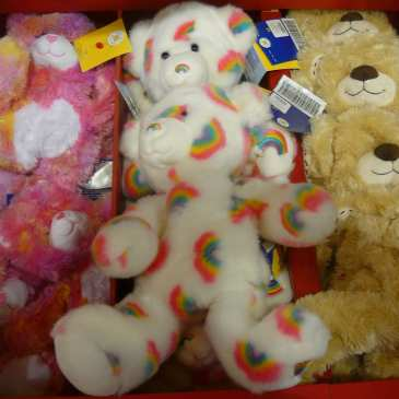 How to clean a Build-A-Bear toy