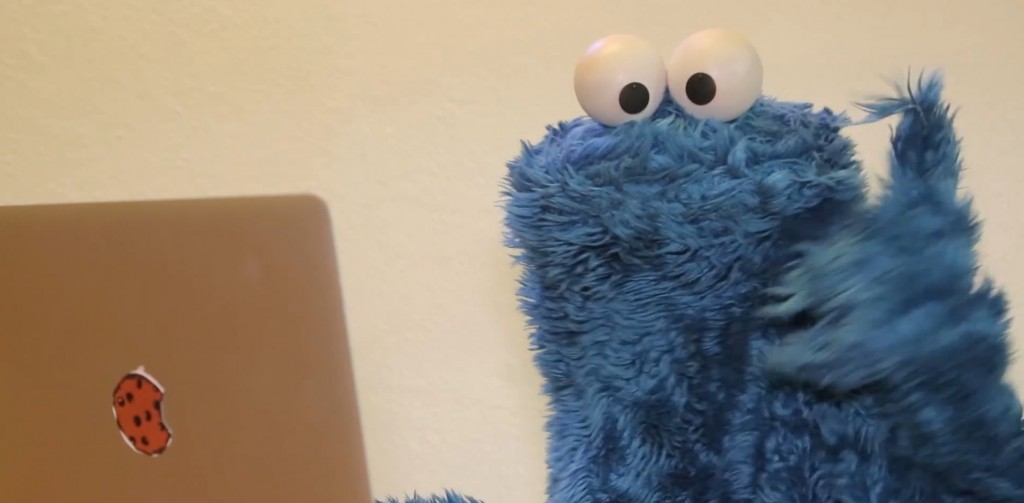 Watch the Cookie Monster break the Internet