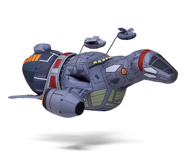 Check out this Firefly Serenity Plush Ship