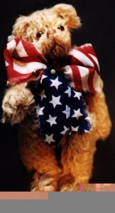 How to make Fremont, The Yankee Doodle Bear