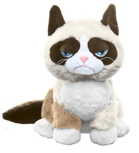 Grumpy cat stuffed animal by Ganz