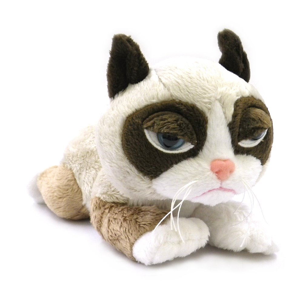 Plush Stuffed Animal Toys : Top grumpy cat stuffed animals stuffedparty the