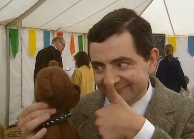 The story of Mr Bean Teddy Bear