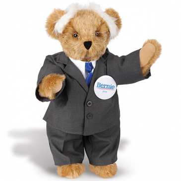 A teddy bear is up for the US President elections