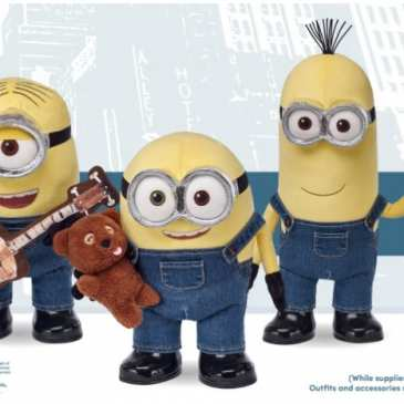 Minions stuffed toy saved the life of a child