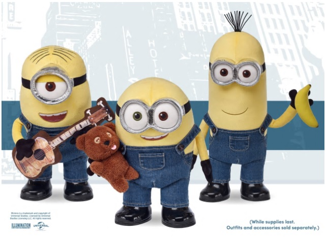 Build-a-Bear Minions are launching today