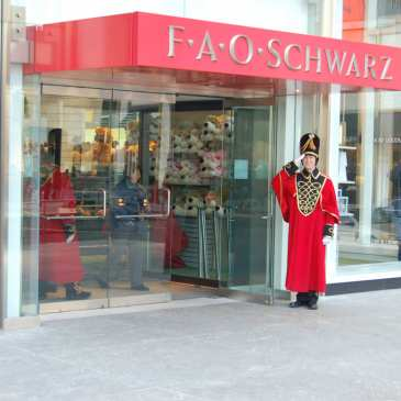 Toys R Us sold the popular brand FAO Schwarz to a toy company