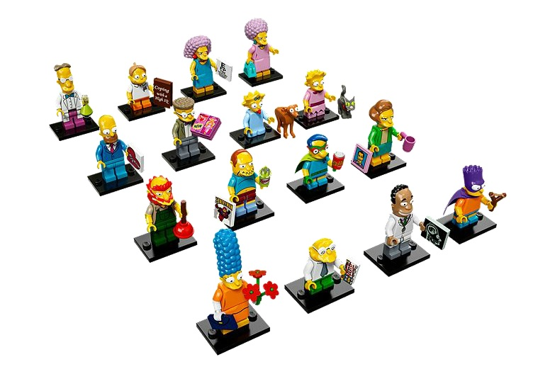 LEGO releases The Simpsons Minifigures Series 2
