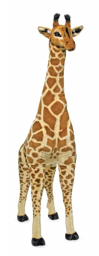 Giant stuffed giraffe by Melissa & Doug